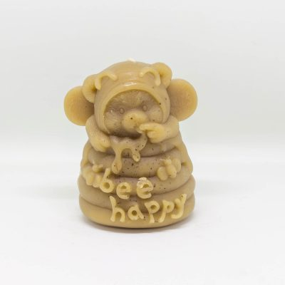 Natural wax candle – Bear